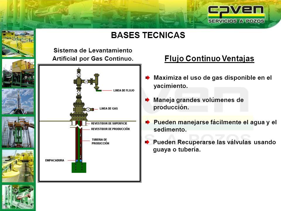 Sistema de Levantamiento Artificial por Gas Continuo.