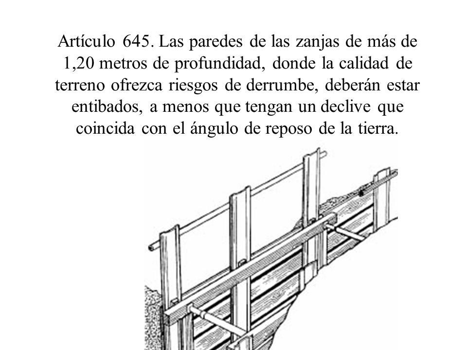 Artículo 645.