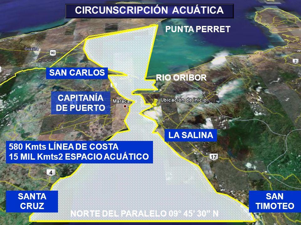 CIRCUNSCRIPCIÓN ACUÁTICA NORTE DEL PARALELO 09° 45' 30 N
