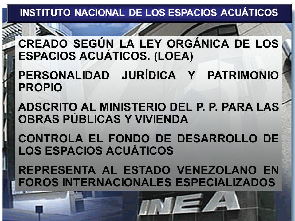 INSTITUTO NACIONAL DE LOS ESPACIOS ACUÁTICOS