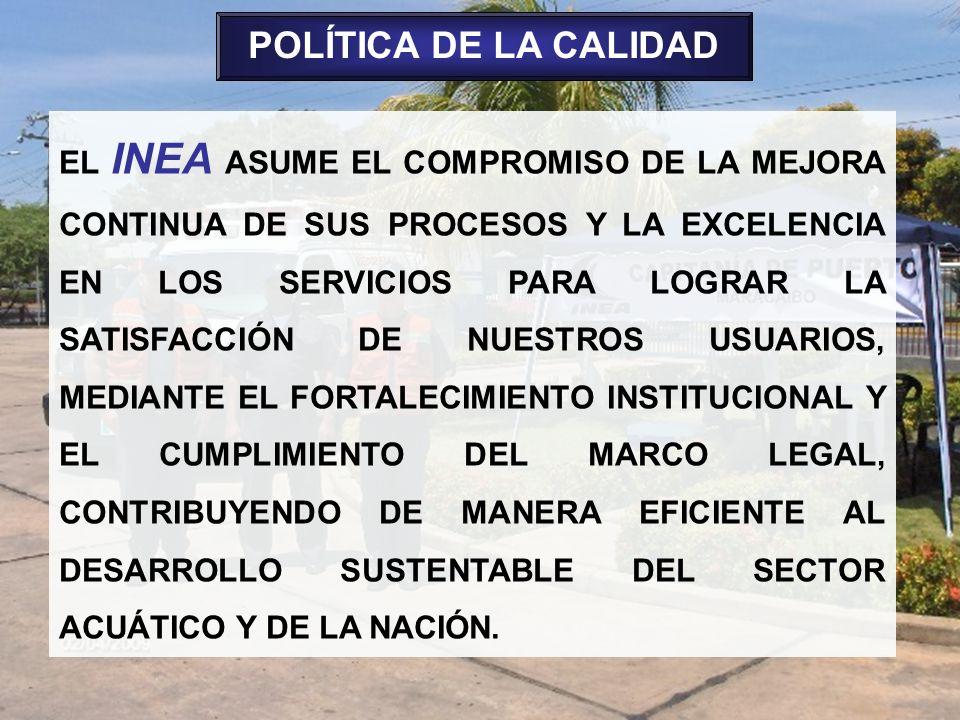 POLÍTICA DE LA CALIDAD