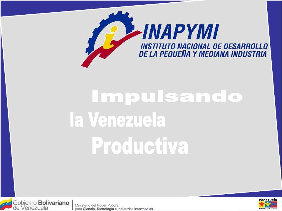 Impulsando la Venezuela Productiva