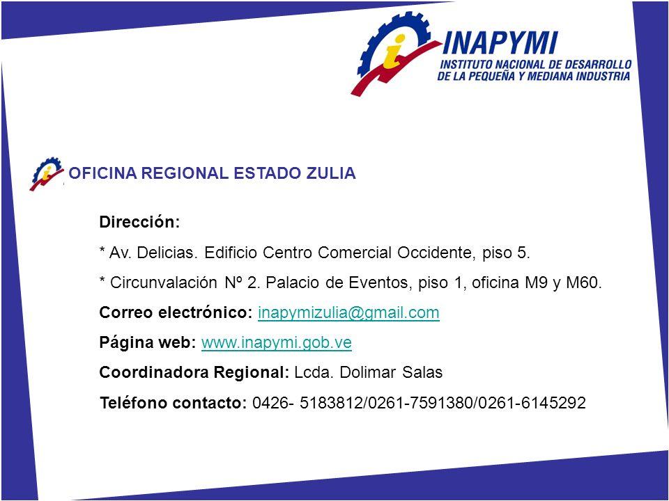 OFICINA REGIONAL ESTADO ZULIA