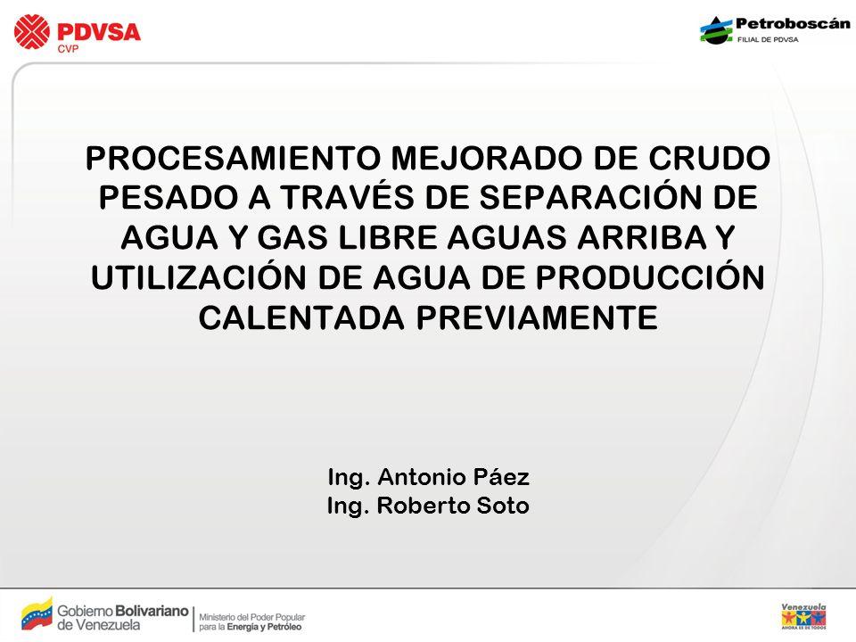 Ing. Antonio Páez Ing. Roberto Soto