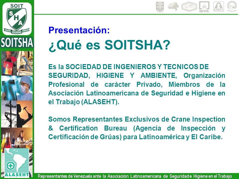 ¿Qué es SOITSHA Presentación: