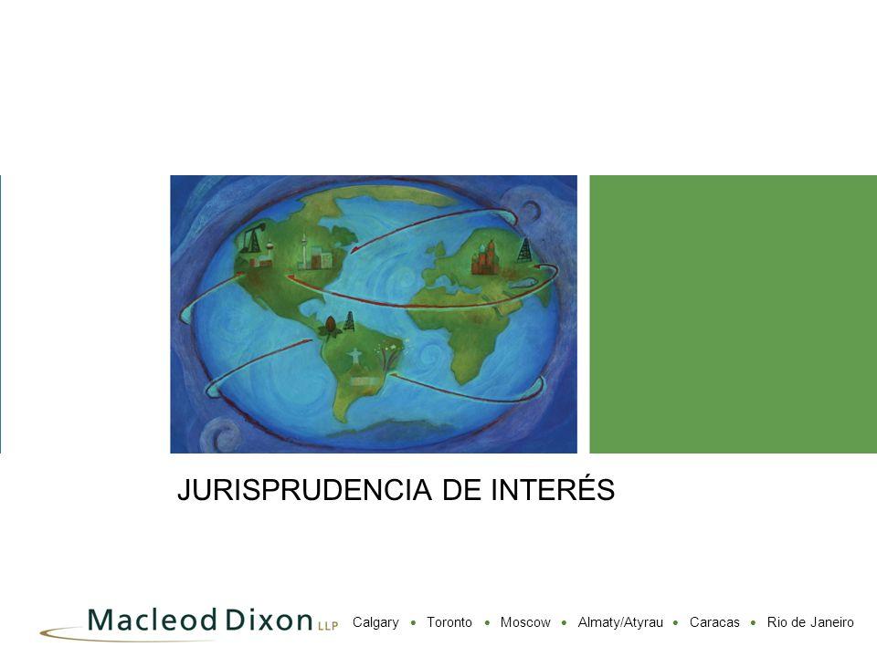 JURISPRUDENCIA DE INTERÉS