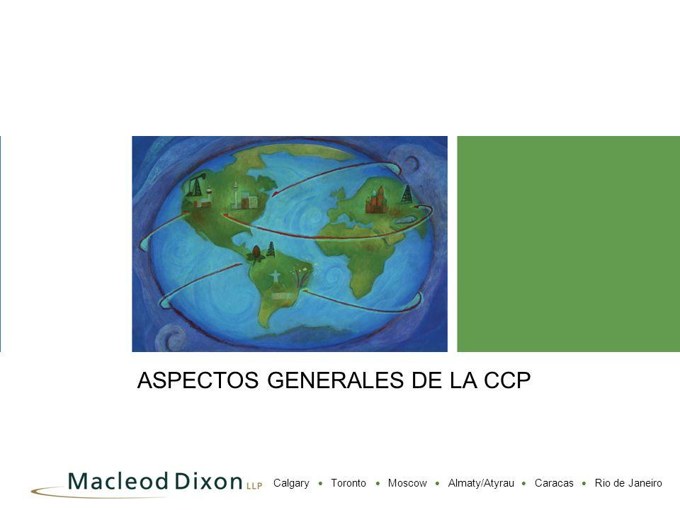 ASPECTOS GENERALES DE LA CCP