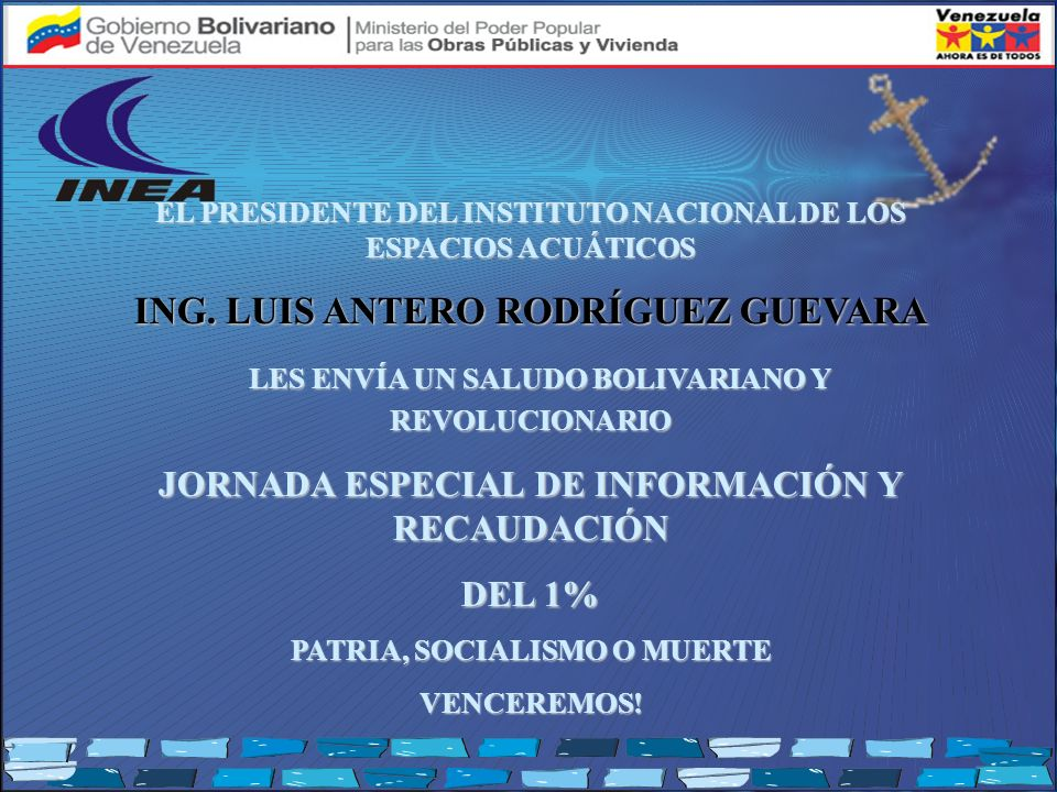ING. LUIS ANTERO RODRÍGUEZ GUEVARA