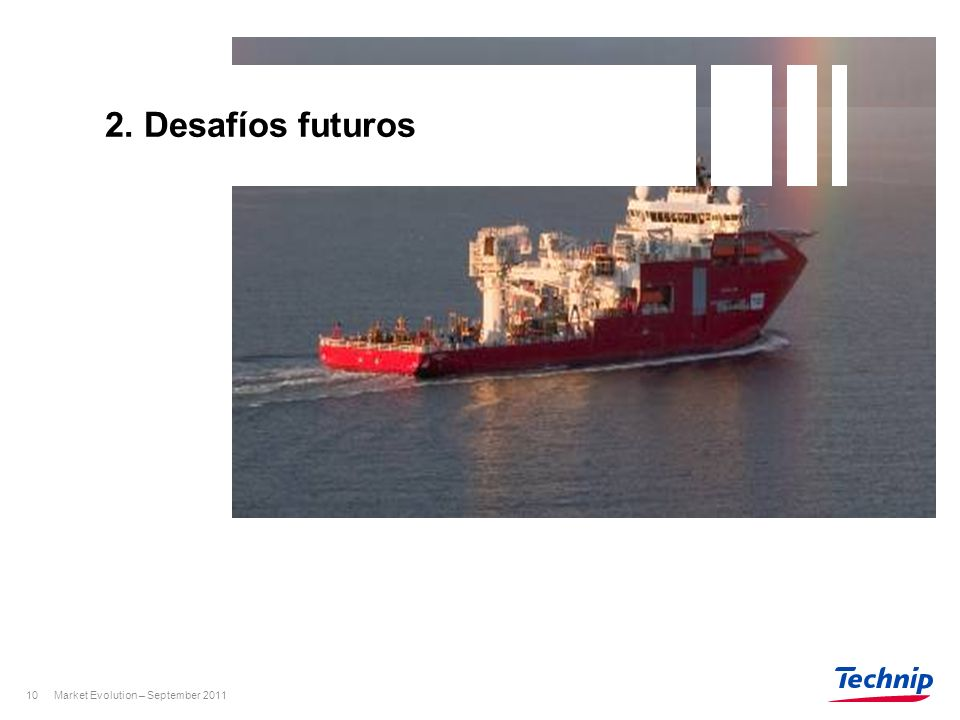 2. Desafíos futuros Market Evolution – September 2011
