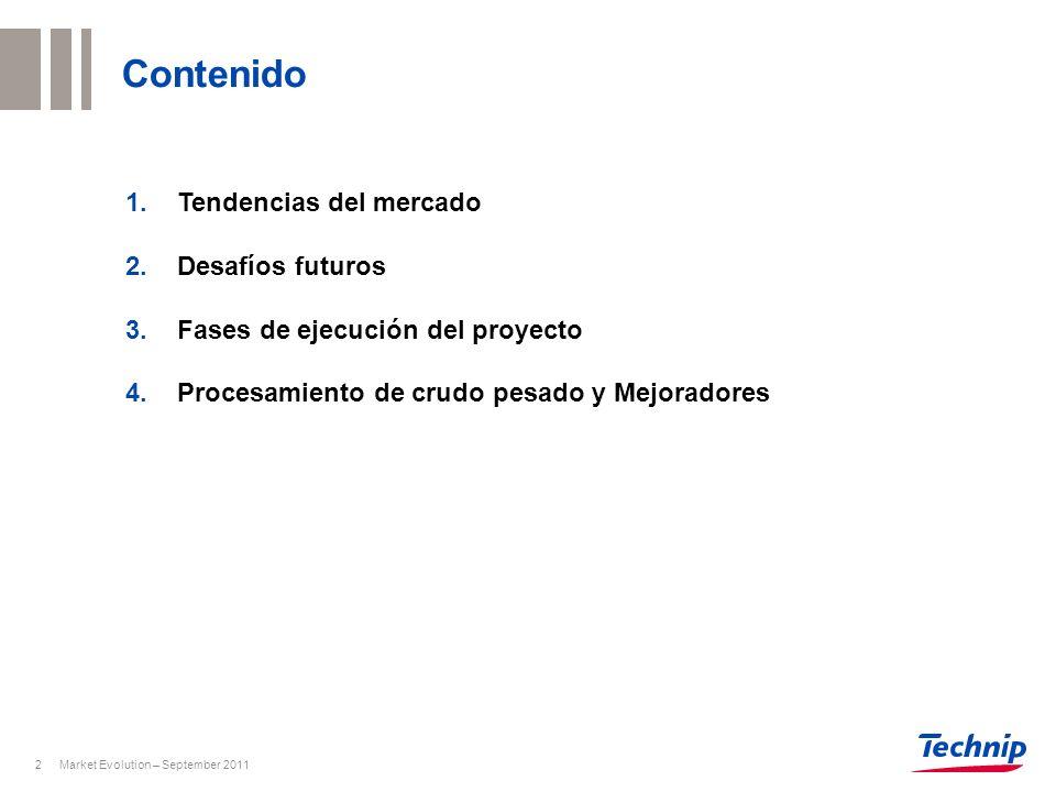 Contenido Tendencias del mercado Desafíos futuros