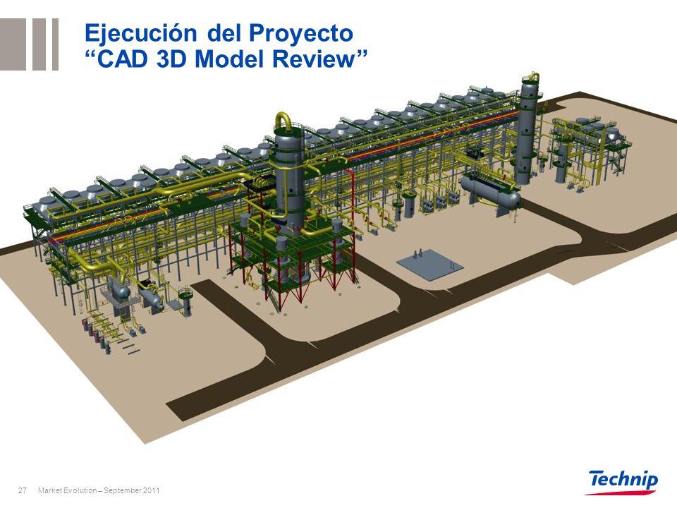 Ejecución del Proyecto CAD 3D Model Review