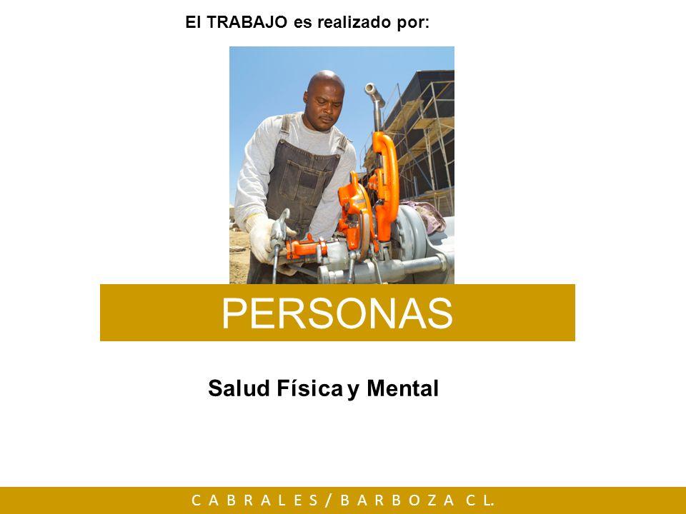 El TRABAJO es realizado por: