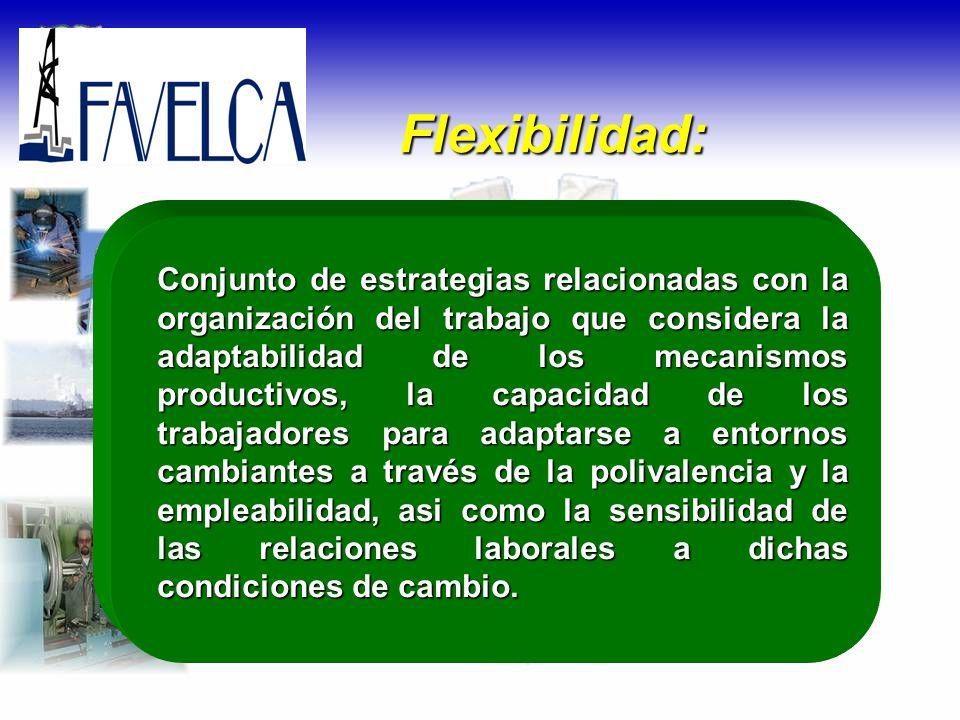 Flexibilidad: