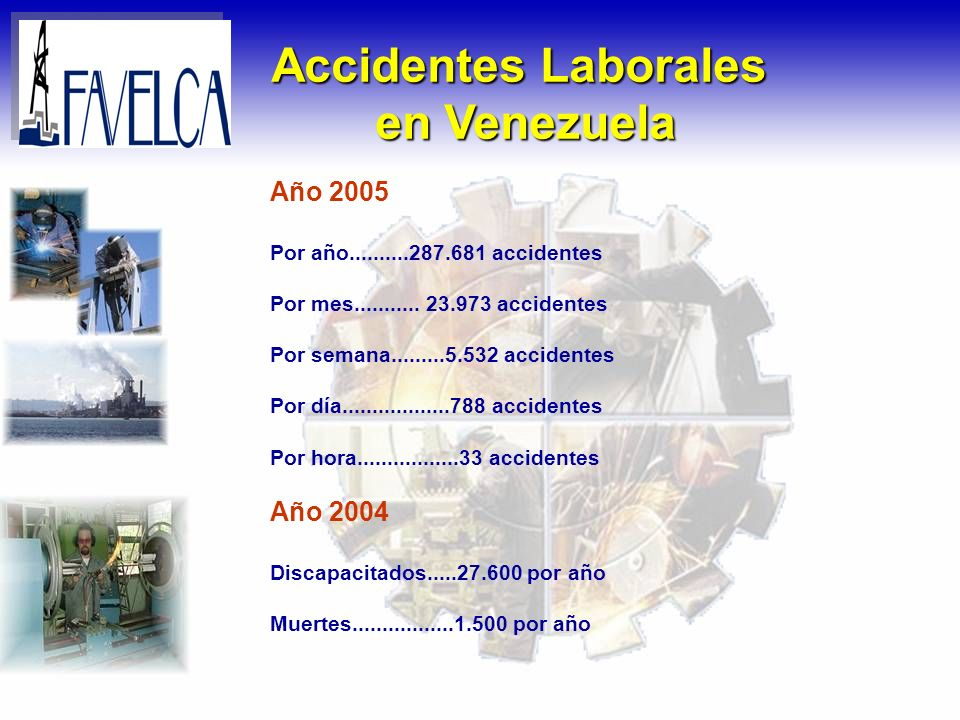 Accidentes Laborales en Venezuela