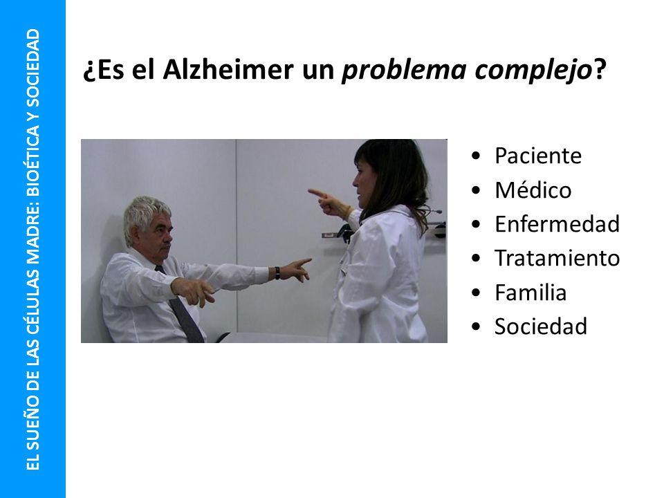 ¿Es el Alzheimer un problema complejo