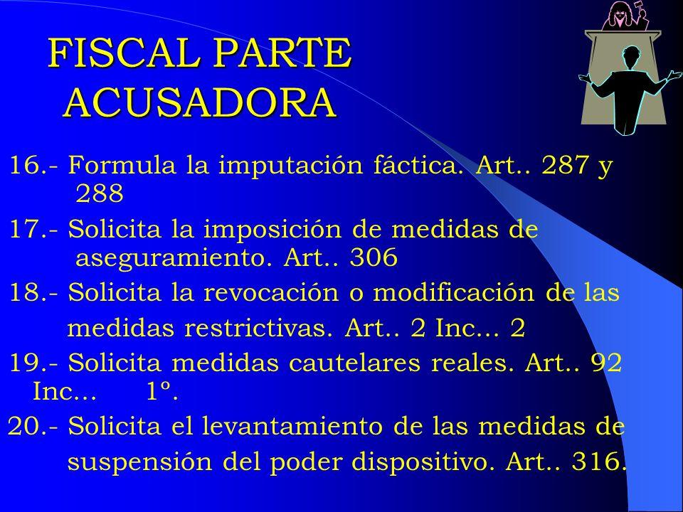 FISCAL PARTE ACUSADORA