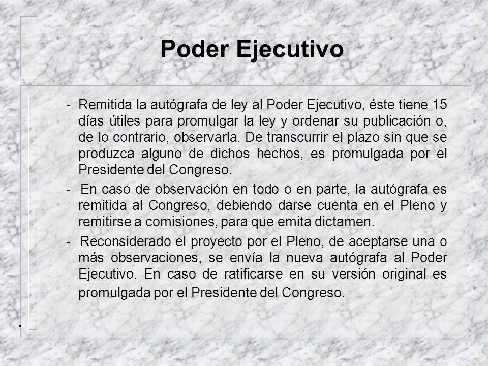 Poder Ejecutivo