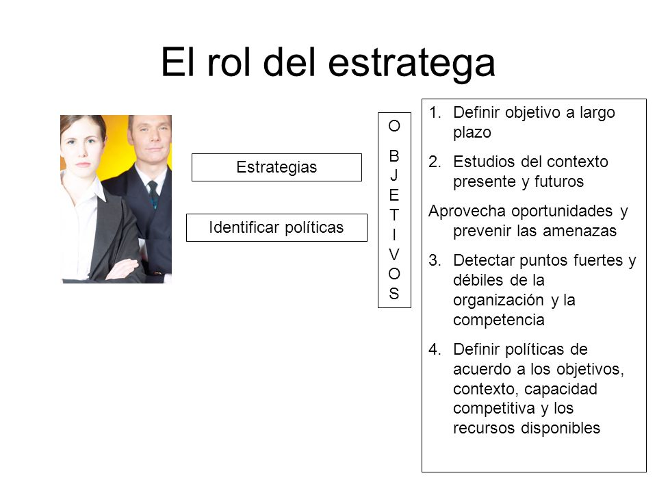 Identificar políticas