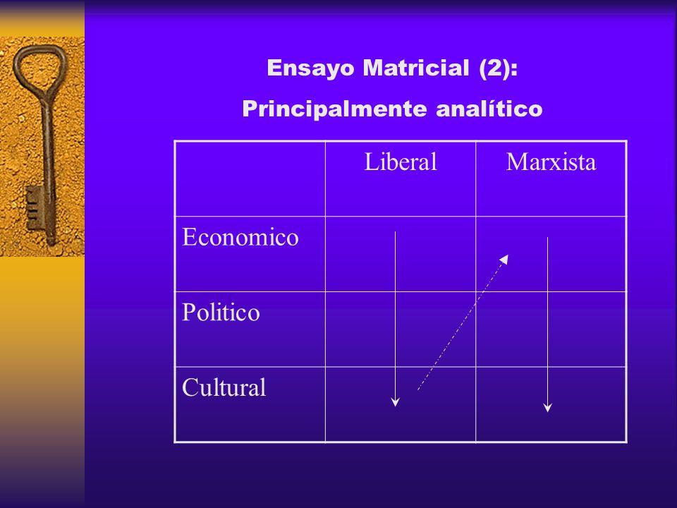 Principalmente analítico