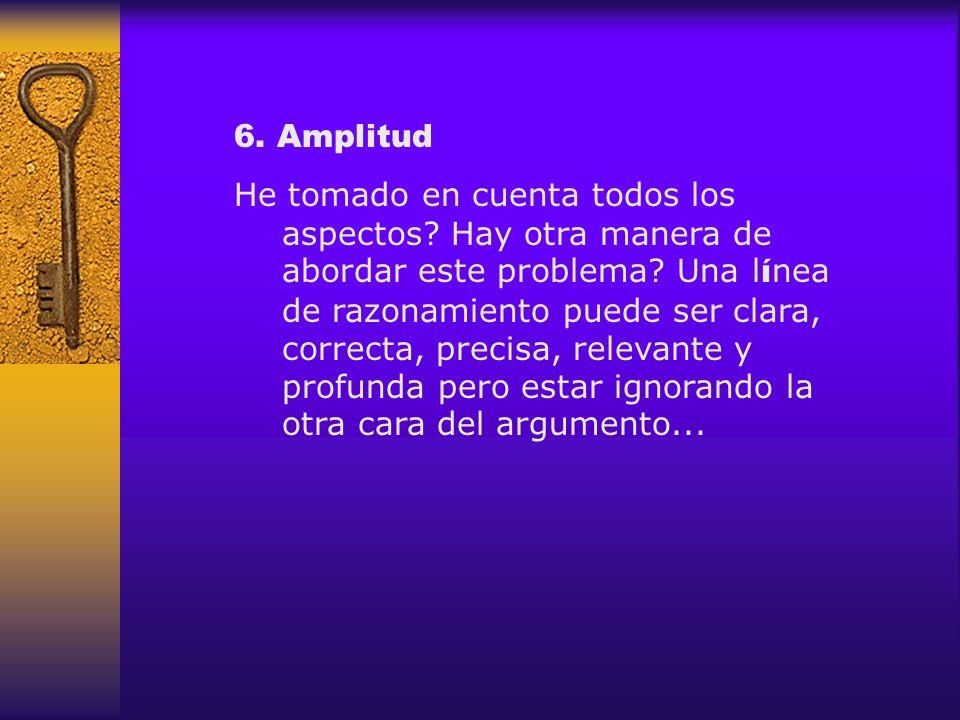 6. Amplitud