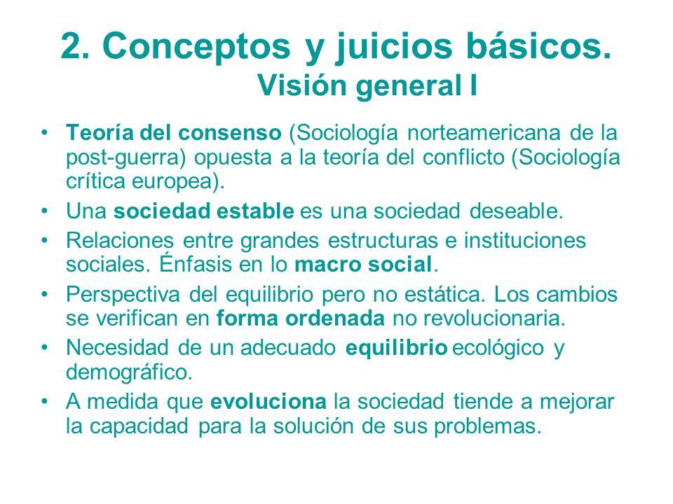 2. Conceptos y juicios básicos. Visión general I
