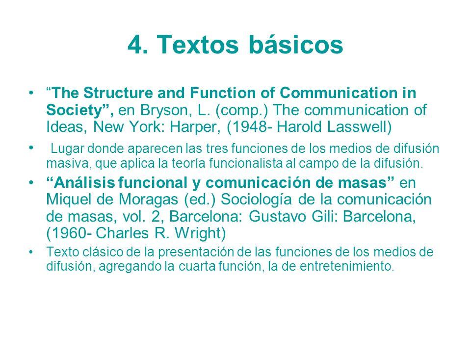 4. Textos básicos