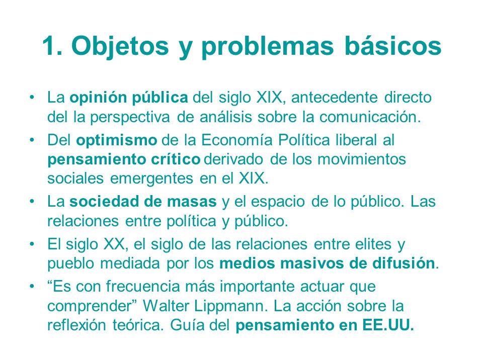 1. Objetos y problemas básicos