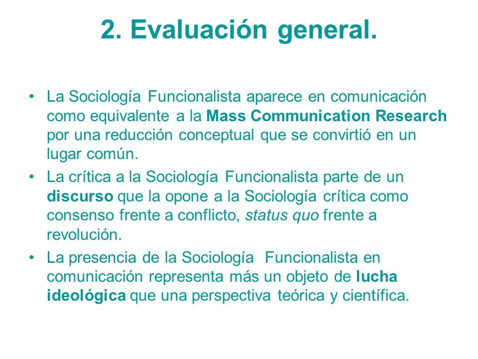 2. Evaluación general.