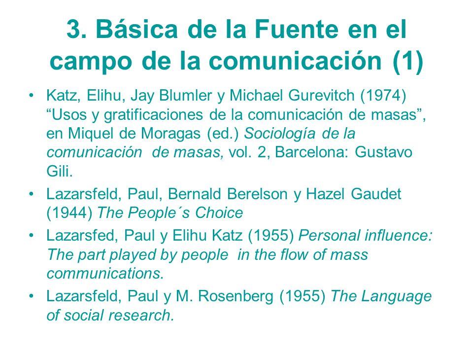 3. Básica de la Fuente en el campo de la comunicación (1)