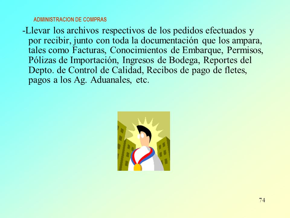 ADMINISTRACION DE COMPRAS