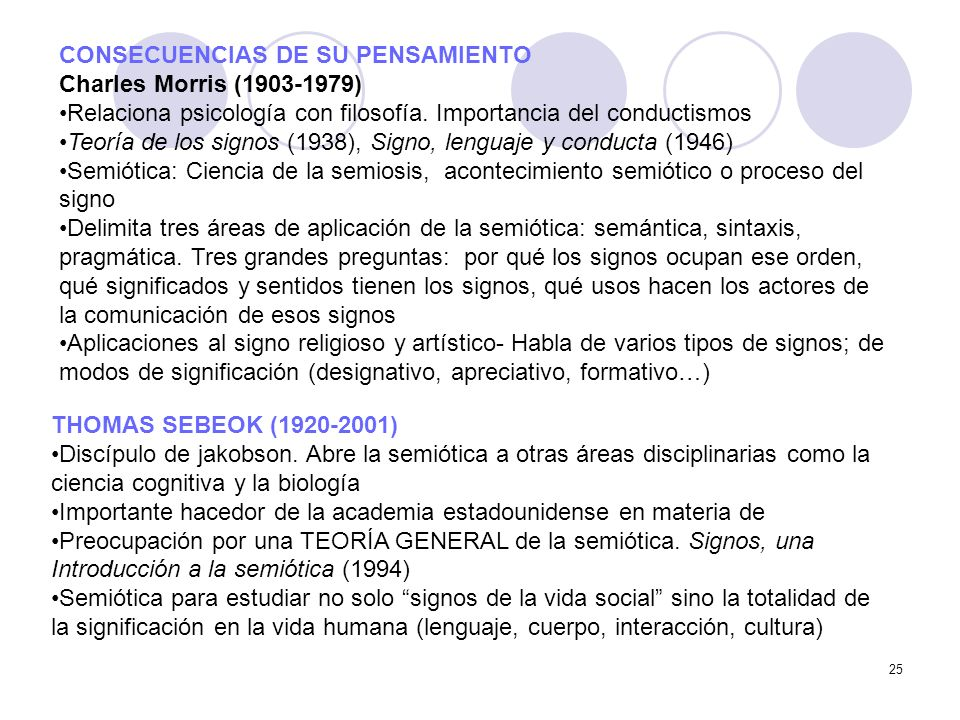 CONSECUENCIAS DE SU PENSAMIENTO