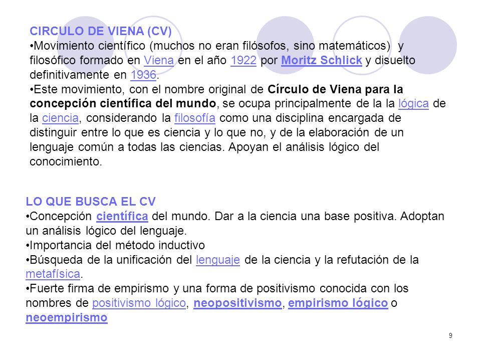 CIRCULO DE VIENA (CV)