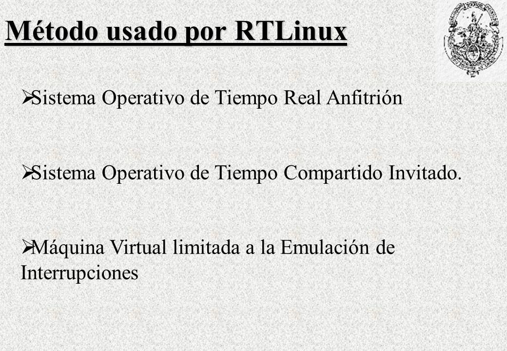Método usado por RTLinux