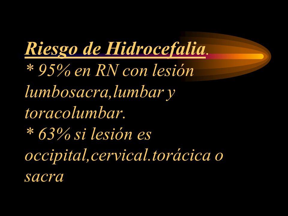 Riesgo de Hidrocefalia