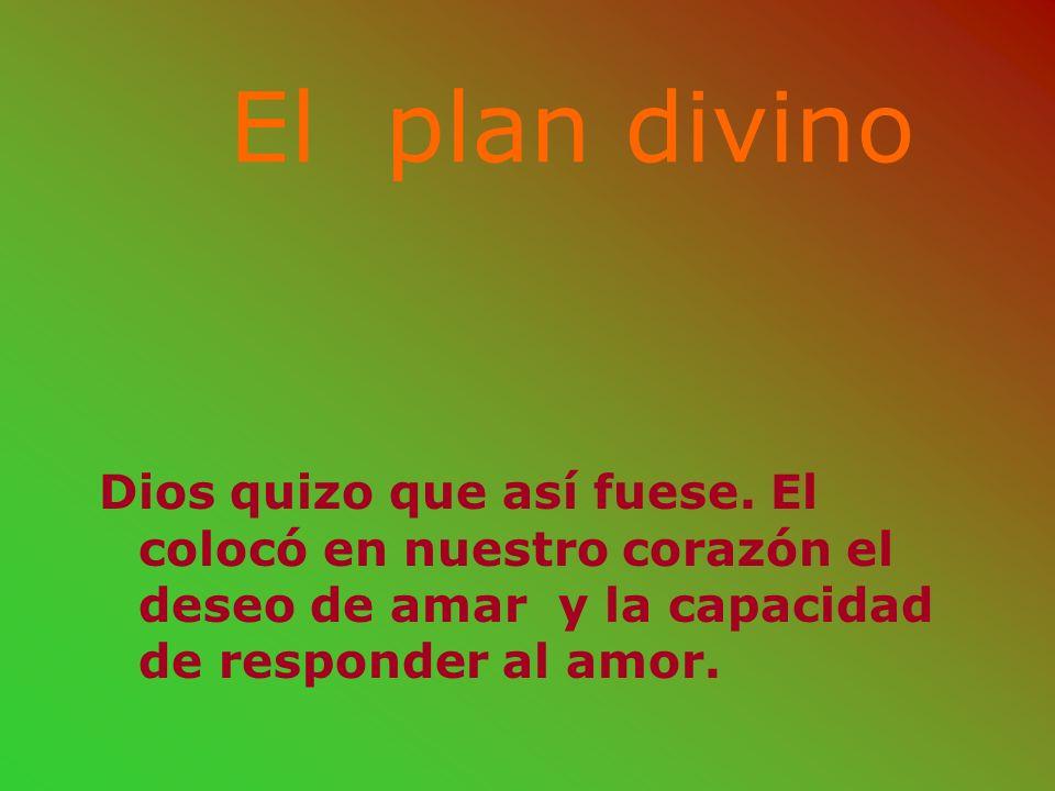 El plan divino Dios quizo que así fuese.