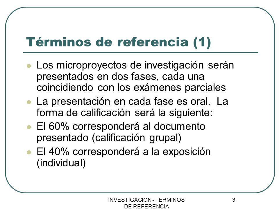 Términos de referencia (1)