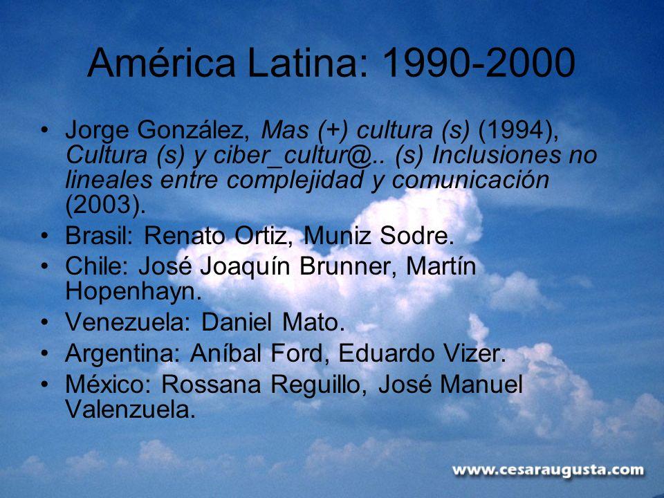 América Latina: 1990-2000