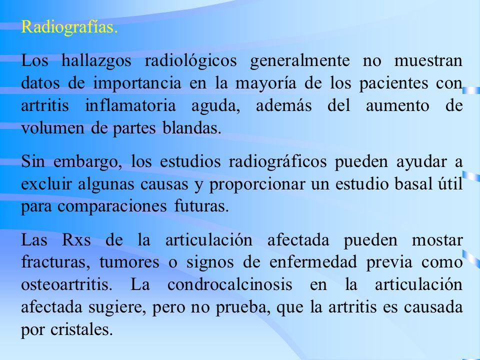 Radiografías.