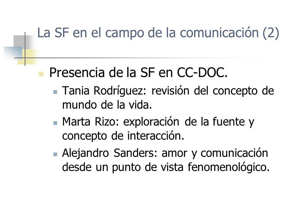La SF en el campo de la comunicación (2)