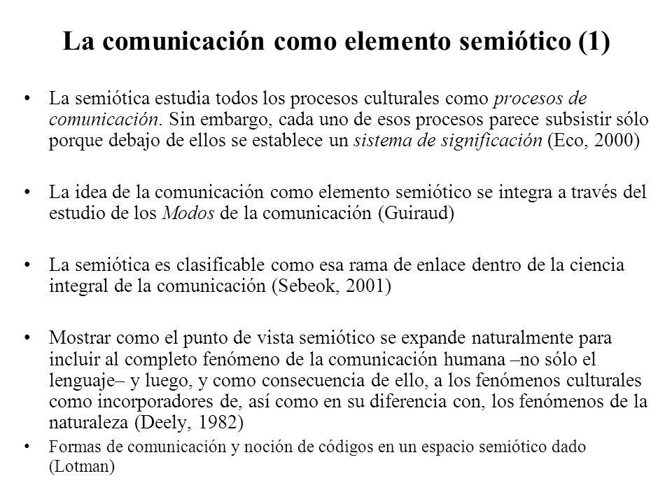 La comunicación como elemento semiótico (1)