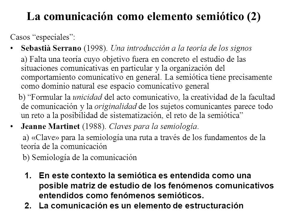 La comunicación como elemento semiótico (2)