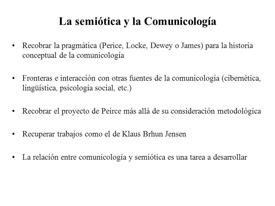 La semiótica y la Comunicología