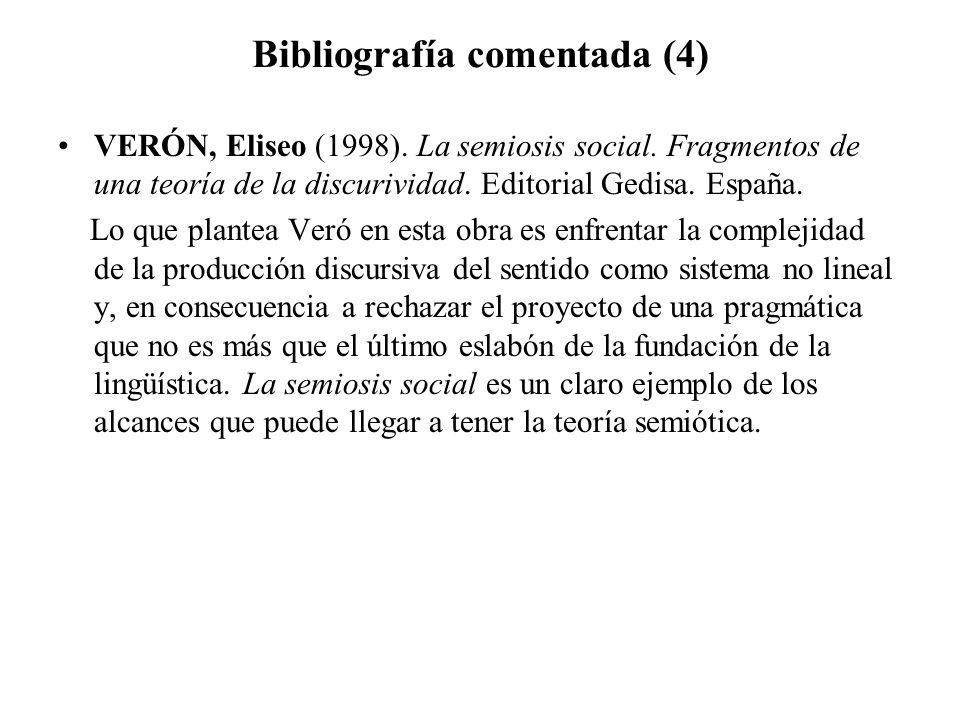 Bibliografía comentada (4)