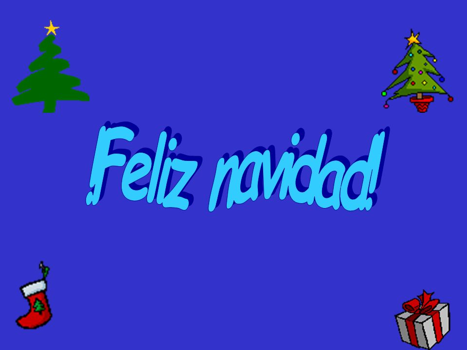 !Feliz navidad!
