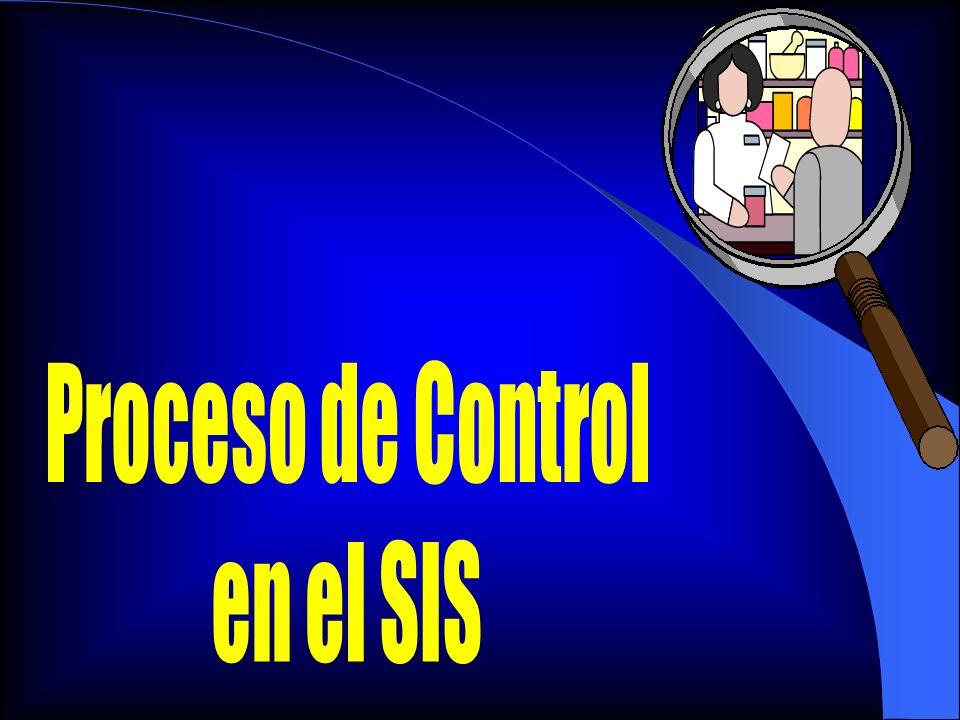 Proceso de Control en el SIS