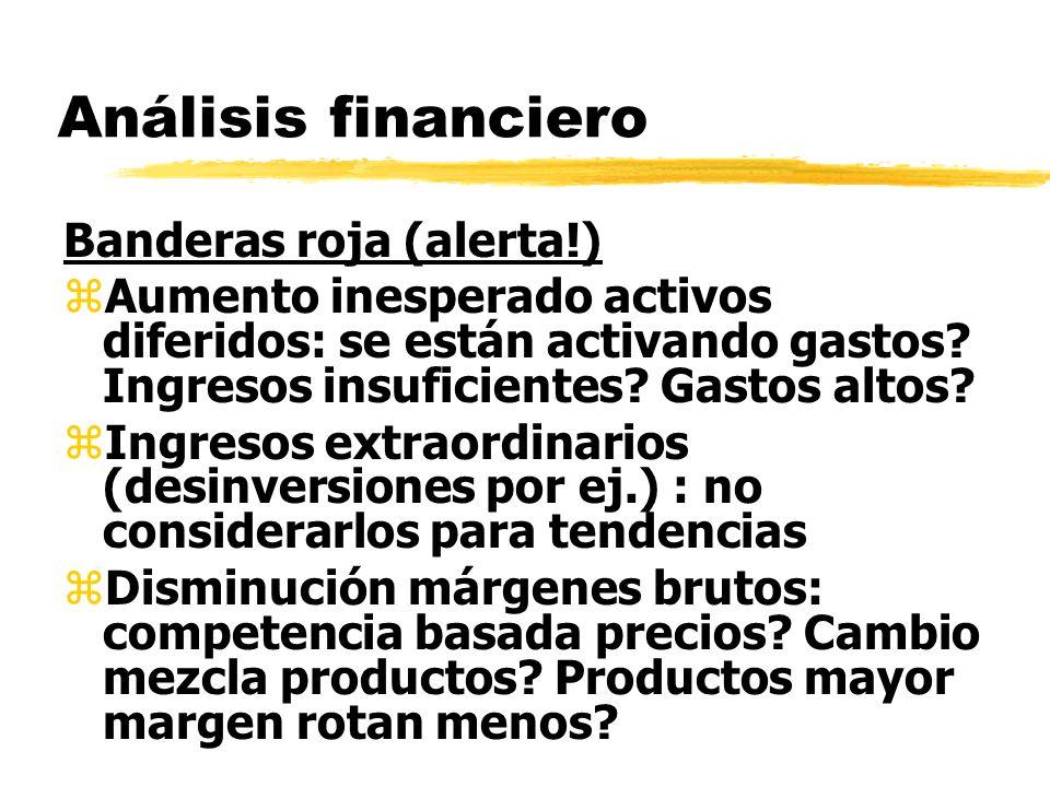 Análisis financiero Banderas roja (alerta!)