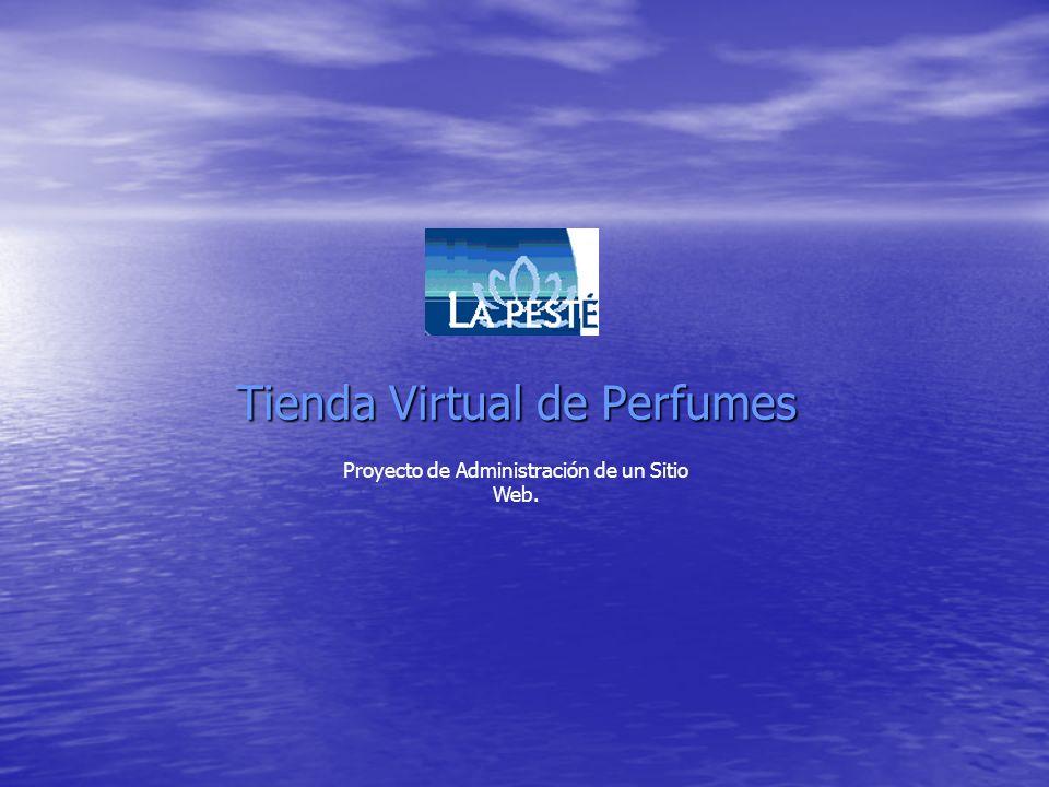 Tienda Virtual de Perfumes