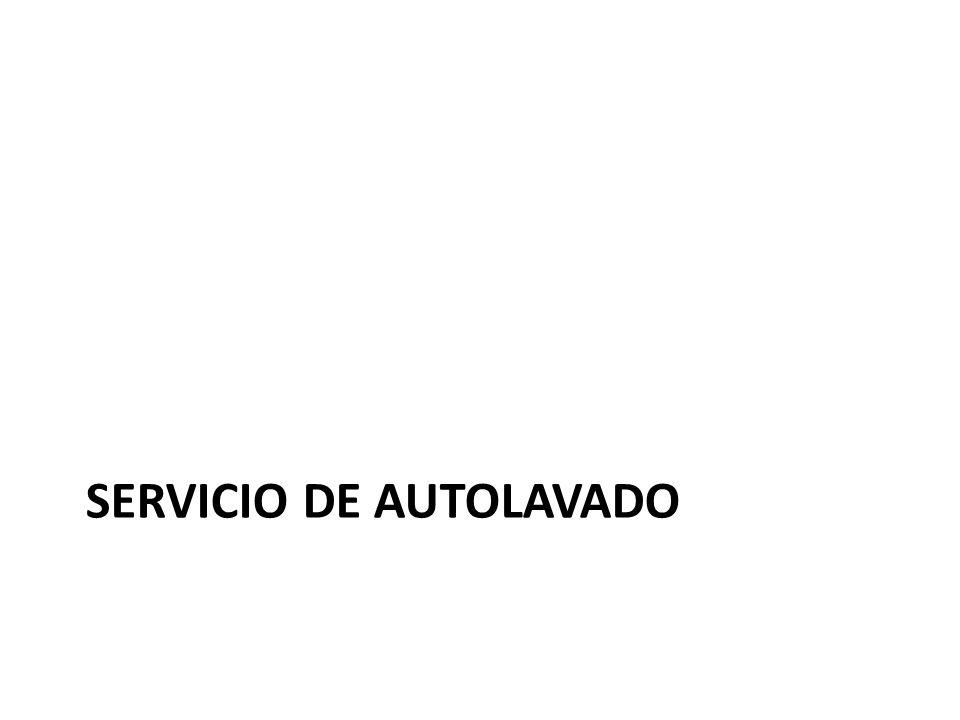 Servicio de autolavado