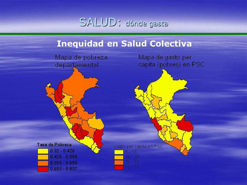 Inequidad en Salud Colectiva