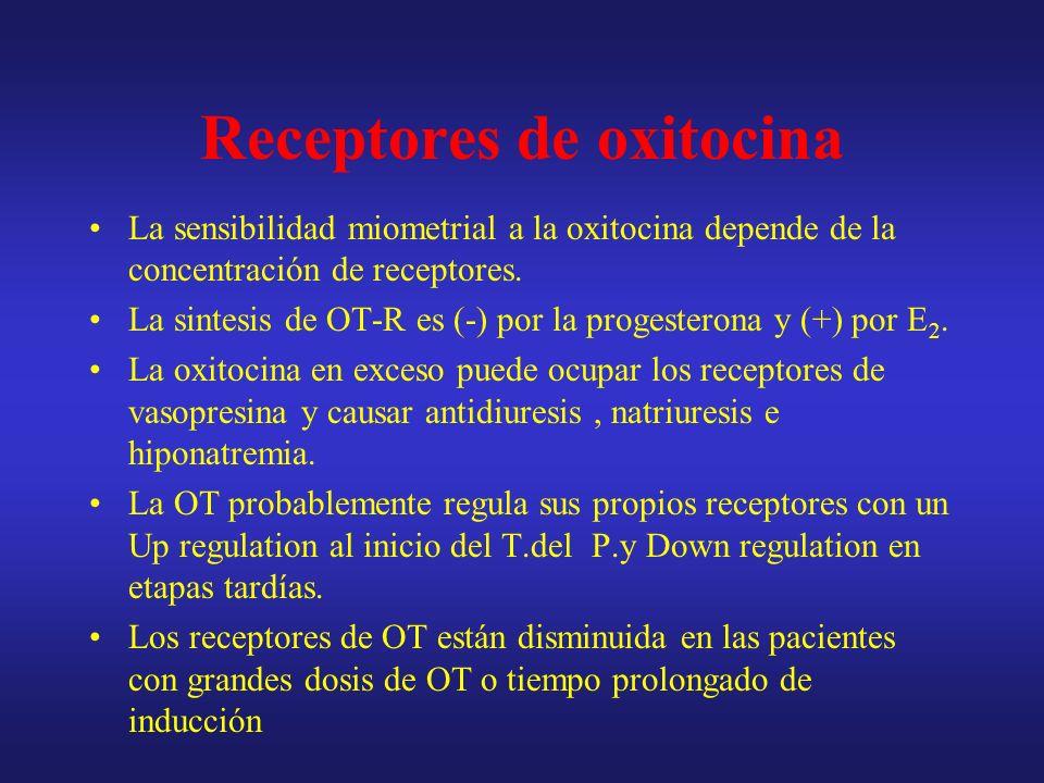Receptores de oxitocina